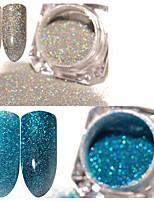 billiga -2 pcs Glitter Klassisk / Bästa kvalitet Romantisk serie Bröllop nagel konst manikyr Pedikyr Jul / Fest / afton / Kontor / Karriär Stilig / Aristokrat Lolita