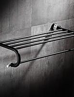 abordables -Barre porte-serviette Design nouveau / Cool Moderne Métal 1pc Double Montage mural