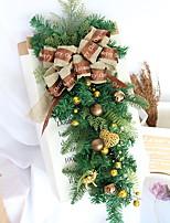 Недорогие -Праздничные украшения Рождественский декор Рождество Декоративная Зеленый 1шт