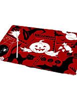Недорогие -Коврики Хэллоуин 100 г / м2 полиэфирный стреч-трикотаж, Прямоугольная Высшее качество плед