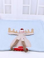 Недорогие -Фланель, Активный краситель Мультипликация Хлопок / полиэфир одеяла