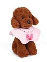 abordables -Chiens / Chats / Petits Animaux à Fourrure Colliers / Collier Mini / Taille ajustable / Décontracté / Quotidien Couleur Pleine Métal Jaune / Bleu / Rose
