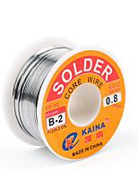 Недорогие -высокое качество 63/37 канифоль с сердечником припоя проволока флюс 2% олово свинцовый припой железа сварочная проволока катушка б-2 1,0 мм 100 г