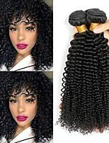 abordables -3 offres groupées Cheveux Malaisiens Kinky Curly Non Traités / Cheveux humains Tissages de cheveux humains / Bundle cheveux / One Pack Solution 8-28 pouce Naturel Couleur naturelle Tissages de / Mode