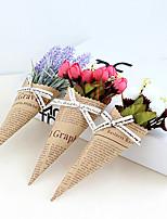 Недорогие -Искусственные Цветы 1 Филиал Классический / Односпальный комплект (Ш 150 x Д 200 см) Стиль / Modern Розы / Светло-голубой Букеты на стол