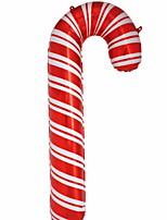 baratos -Decorações de férias Decorações Natalinas Enfeites de Natal Legal Vermelho 1pç