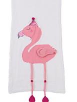 baratos -flanela flamingo, cobertores de poliéster / algodão com estampas reativas