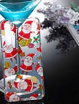 Недорогие -Кейс для Назначение Huawei P20 lite / P10 Lite Прозрачный / С узором Кейс на заднюю панель Рождество Мягкий ТПУ для Huawei P20 / Huawei P20 Pro / Huawei P20 lite