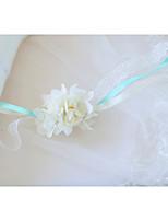 Недорогие -Свадебные цветы Букетик на запястье Свадьба / Свадебные прием Шелковый Как атласные / Ткань 0-10 cm