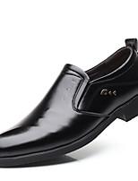 abordables -Homme Chaussures de confort Faux Cuir Printemps été Classique / Décontracté Mocassins et Chaussons+D6148 Ne glisse pas Noir / Soirée & Evénement