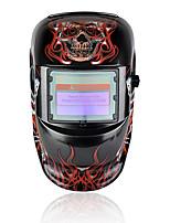 baratos -1pcs PP Máscara de solda soldagem / Escurecimento automático / Segurança Máscaras Faciais
