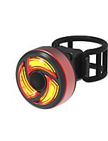 Недорогие -Задняя подсветка на велосипед Светодиодная лампа Велосипедные фары Велоспорт Водонепроницаемый, Быстросъемный, Легкость Литий-ионная 100 lm Работает от USB Красный
