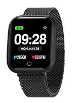 Недорогие -Умный браслет Indear-Q8/W3 для Android iOS Bluetooth Спорт Водонепроницаемый Пульсомер Измерение кровяного давления Сенсорный экран / Израсходовано калорий / Длительное время ожидания / Педометр