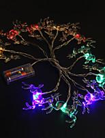 baratos -Luzes LED PVC Decorações do casamento Casamento / Festa / Noite Elk / Criativo / Casamento Todas as Estações