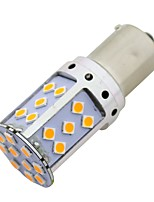 abordables -SO.K 2pcs BAU15S / 1156 Automatique Ampoules électriques 21 W SMD 3030 1800 lm 35 LED Clignotants / Moto / Accessoires Pour Universel Toutes les Années