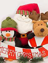 baratos -Decorações de férias Decorações Natalinas Objetos de decoração Decorativa Vermelho 1pç