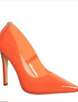 Недорогие -Жен. Комфортная обувь Синтетика Весна Обувь на каблуках На шпильке Оранжевый