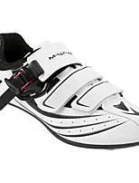 Недорогие -21Grams Обувь для велоспорта Дышащий, Ультралегкий (UL), Удобный Велосипеды для активного отдыха / Велосипедный спорт / Велоспорт Белый Муж.