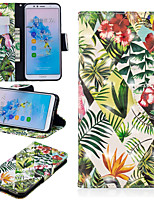 Недорогие -Кейс для Назначение Huawei Mate 10 lite / Huawei Mate 20 Pro Кошелек / Бумажник для карт / со стендом Чехол дерево Твердый Кожа PU для Huawei Nova 3i / Huawei P Smart Plus / Honor 7A