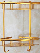 Недорогие -Полка для ванной Новый дизайн / Многофункциональный Modern Алюминий 1шт Двуспальный комплект (Ш 200 x Д 200 см) На стену