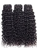 abordables -3 offres groupées Cheveux Brésiliens Ondulation Non Traités / Cheveux humains Cadeaux / Tissages de cheveux humains / Parfums pour Fête du thé 8-28 pouce Couleur naturelle Tissages de cheveux humains