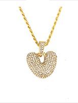abordables -Femme Long Pendentif de collier - Dorage 18K Or 60 cm Colliers Tendance Bijoux 1pc Pour Mariage, Quotidien