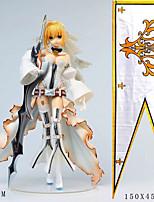 billiga -Anime Actionfigurer Inspirerad av Fate / zero Saber pvc 24 cm CM Modell Leksaker Dockleksak