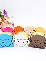 baratos -Cúbico Arte de Papel Suportes para Lembrancinhas com Estilo Floral Disperso / Estampa Caixas de Presente - 50pçs
