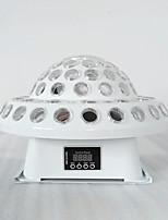baratos -1pç 30 W 3200 lm 6 Contas LED Criativo Regulável Cores Gradiente Luzes LED de Cenário Mudança 220-240 V Comercial Palco