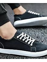 Недорогие -Муж. Комфортная обувь Полотно Весна & осень Кеды Белый / Черный / Оранжевый
