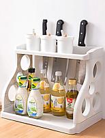baratos -Organização de cozinha Prateleiras e Suportes PP (Polipropileno) Criativo / Armazenamento / Fácil Uso 1pç