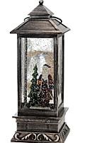 Недорогие -Праздничные украшения Рождественский декор Рождественские украшения Светодиодная лампа Коричневый 1шт