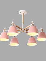 Недорогие -6-Light Спутник Люстры и лампы Потолочный светильник Окрашенные отделки Металл Творчество 110-120Вольт / 220-240Вольт Лампочки не включены / SAA