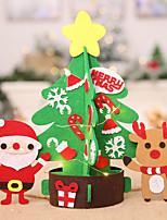 baratos -Ornamentos Tecido TNT Decorações do casamento Natal / Festa / Noite Natal / Criativo / Tema vintage Inverno