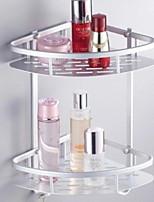 Недорогие -Полка для ванной Новый дизайн / Cool Современный Алюминий 1шт На стену