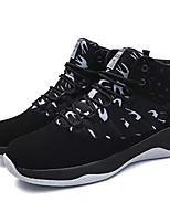 Недорогие -Муж. Комфортная обувь Полиуретан Осень На каждый день Кеды Доказательство износа Контрастных цветов Черный / Черный / Красный