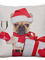 Недорогие -Рождество Праздник Хлопковая ткань Для вечеринок Рождественские украшения