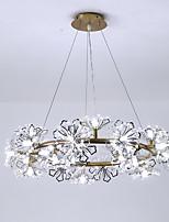 billiga -ZHISHU Cirkelrunda Ljuskronor Glödande Elektropläterad Målad Finishes Metall Ny Design 110-120V / 220-240V Varmt vit / Vit Glödlampa inkluderad / G4