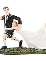 Недорогие -Украшения для торта Пляж / Сад / Классика Простой стиль ABS смолы Свадьба / Особые случаи с Однотонные 1 pcs Подарочная коробка