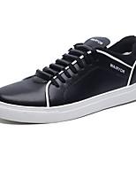 Недорогие -Муж. Комфортная обувь Полиуретан Осень На каждый день Кеды Дышащий Белый / Черный / Синий