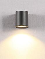 Недорогие -OYLYW Мини LED / Модерн Настенные светильники В помещении / На открытом воздухе Металл настенный светильник IP54 85-265V 6 W