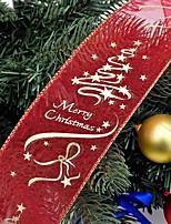 Недорогие -Праздничные украшения Рождественский декор Рождественские украшения Для вечеринок / Декоративная Красный 1шт