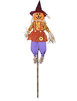 Недорогие -Праздничные украшения Украшения для Хэллоуина Halloween Мультипликация Красный / Зеленый 1шт