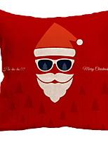 Недорогие -Рождественские украшения Новогодняя тематика Полиэстер Квадратный Оригинальные Рождественские украшения