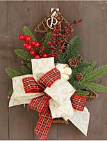 Недорогие -Праздничные украшения Рождественский декор Рождественские украшения Держать в руке Красный 1шт