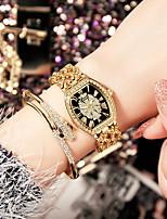 abordables -Femme Montre Bracelet Quartz Chronographe Design nouveau Alliage Bande Analogique Mode Minimaliste Argent / Doré / Or Rose - Or Argent Or Rose / Acier Inoxydable