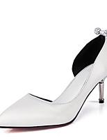 abordables -Femme Escarpins Polyuréthane Automne Chaussures à Talons Talon Aiguille Or / Argent / Bleu