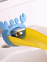 abordables -robinet de salle de bains rallonge dessin animé bébé dispositif de lavage des mains guide pour enfants évier robinet rallonge accessoires de salle de bain