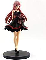 billiga -Anime Actionfigurer Inspirerad av Vocaloid Megurine Luka pvc 24 cm CM Modell Leksaker Dockleksak