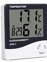 Недорогие -внутренняя комната lcd электронная температура влажность метр цифровой термометр гигрометр метеорологическая станция будильник